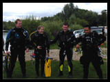 Small groups on all PADI dive courses